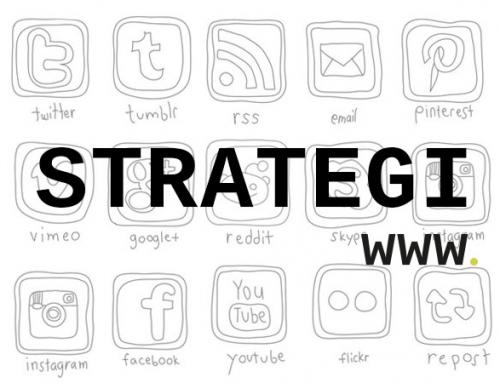 Strategi for sociale medier og web