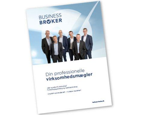 Profilbrochure til rådgivningsvirksomhed