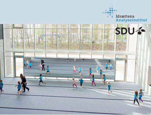 Pixi med resultater fra forskningsprojekt om idrætsfaciliteter