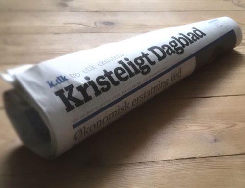 Debatartikler, portrætter, nyheder og længere baggrundsfortællinger til Kristeligt Dagblad